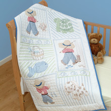Little Boys Crib Quilt Top