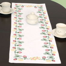 Strawberries Table Runner