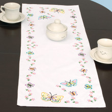 Fluttering Butterflies Table Runner