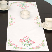 Tulips Table Runner
