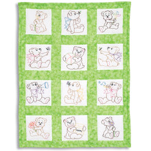 Baby Bears Nursery Quilt Blocks