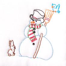 "Snowman 9"" Quilt Blocks"