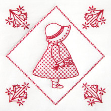 "Sunbonnet Sue 9"" Quilt Blocks"