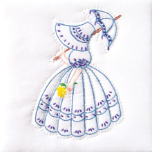 "Parasol Lady 9"" Quilt Blocks"