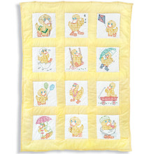 Baby Ducks Nursery Quilt Blocks