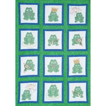 Frogs Theme Quilt Blocks