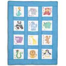 Children's Zoo Nursery Quilt Blocks