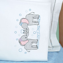 Elephants Children's Pillowcase