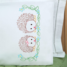 Hedgehogs Children's Pillowcase