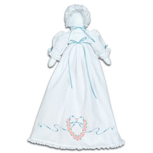 Heart & Ribbon Pillowcase Doll