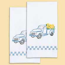 Flower Delivery Hand Towels