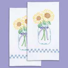 Sunflowers Hand Towels