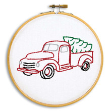 "Christmas Truck 6"" Hoop Kit"