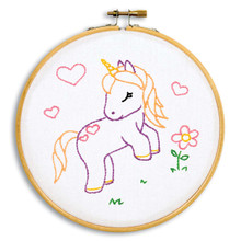 "Baby Unicorn 6"" Hoop Kit"
