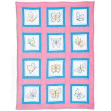 Butterflies Theme Quilt Blocks