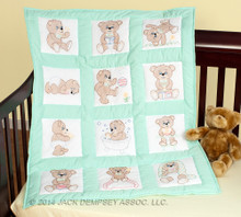 Teddy Bears Nursery Quilt Blocks