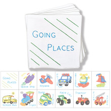 Transportation Cloth Nursery Book