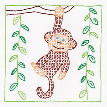 "Monkey 9"" Quilt Blocks"