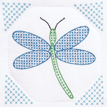 "Dragonfly 9"" Quilt Blocks"