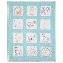 Barnyard Friends Nursery Quilt Blocks