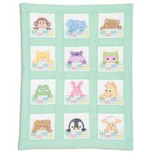Peek a Boo Nursery Quilt Blocks