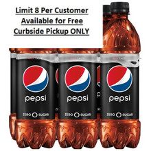 Pepsi Zero Sugar 6pk 16.9 Fl Oz