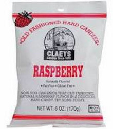 Raspberry Hard Candies - 6oz Bag