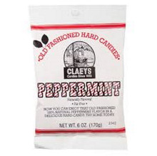 Peppermint Hard Candies - 6oz Bag