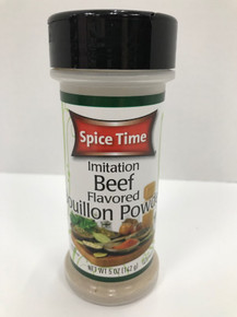 Beef Flavored Bouillon Powder - 5oz