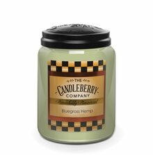 Bluegrass Hemp- Candleberry Co. - 26oz
