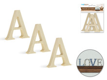 """3pk 2"""" Standing Letter A"""