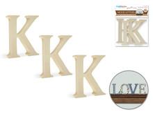 """3pk 2"""" Standing Letter K"""