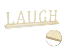 Standing Word on Base - Laugh