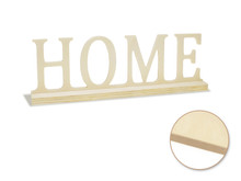 Standing Word on Base - Home