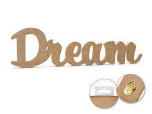 12in Word Standing Decor - Dream