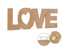 12in Word Standing Decor - Love