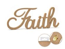 12in Word Standing Decor - Faith