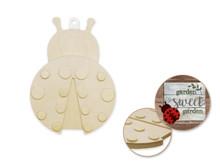 3D Wood Shape - Ladybug