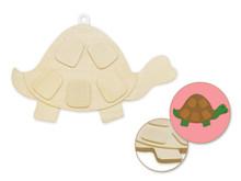 3D Wood Shape - Turtle