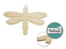 3D Wood Shape - Dragonfly