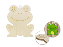 3D Wood Shape - Frog