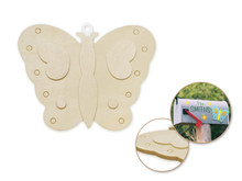 3D Wood Shape - Butterfly