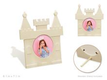Wood Photo Frame - Castle