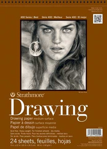 Strathmore Drawing Paper Pad 14x17 Medium Surface
