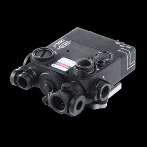 an infrared laser pointer and infrared pointer/illuminator in a lightweight, rugged metal housing