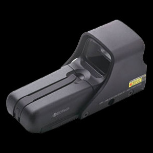 Class II laser holographic sight, night vision compatible with 1MOA dot