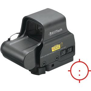 The EXPS2-0 Red Dot Sight (Matte Black) from EOTech is a holographic red-dot sight