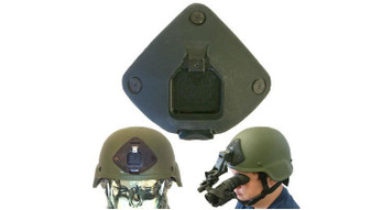 3 hole low profile shroud for MICH helmets