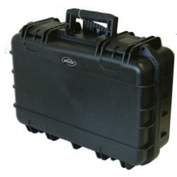 Military Grade molded injection carrying case, foam filled.