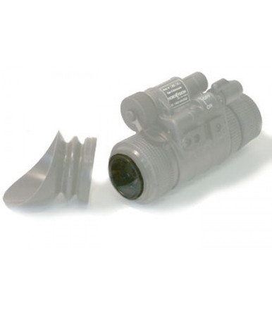 Demist Shield for keeping night vision optics clear during humid or wet conditions